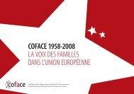 coface 1958-2008 la voix des familles dans l'union européenne