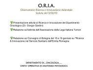 U.O. Anatomia Patologica - Biblioteca - Arcispedale S. Maria Nuova