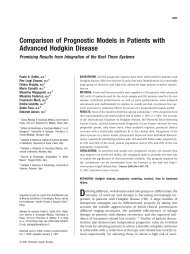 Comparison of prognostic models in patients with ... - ResearchGate
