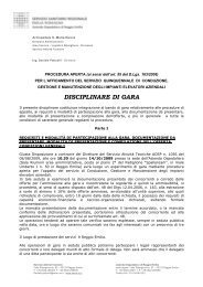 Gara Ascensori - Arcispedale S. Maria Nuova