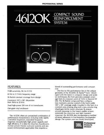 4612OK - JBL Professional