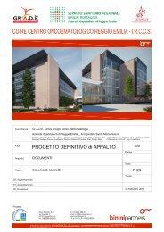 Schema di contratto - Arcispedale S. Maria Nuova