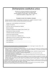Dichiarazione sostitutiva unica - Cia