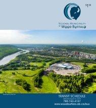 Transit Map 2010/2011 - Regional Municipality of Wood Buffalo