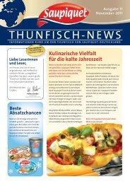 Ausgabe 11 November 2011 - Saupiquet