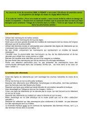 Les mannequins - Réseau québécois d'action pour la santé des ...