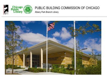 Albany Park Branch Library - the Public Building Commission of ...