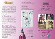 Flyer_Museumspädagogisches Programm - Sauerland-Museum