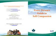 Every Person's Guide to Self Compassion - Klinic Community Health ...