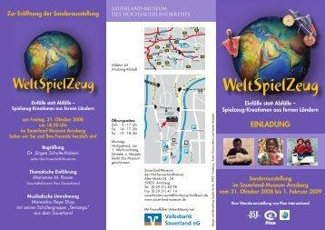 WeltSpielZeug - Sauerland-Museum