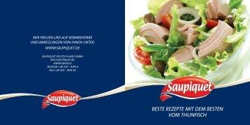 Beste Rezepte mit dem Besten vom thunfisch - Saupiquet
