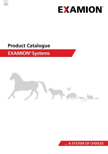 EXAMION Product Catalogue VET EN