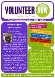 belfast opps - Volunteer Now