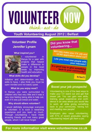 belfast opps - Volunteer Now