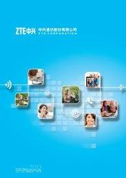 Interim Report 2012 - ZTE