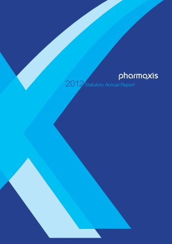 2012 Statutory Annual Report - Pharmaxis