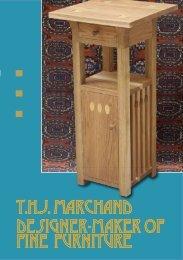 Trevor Marchand furniture flyer
