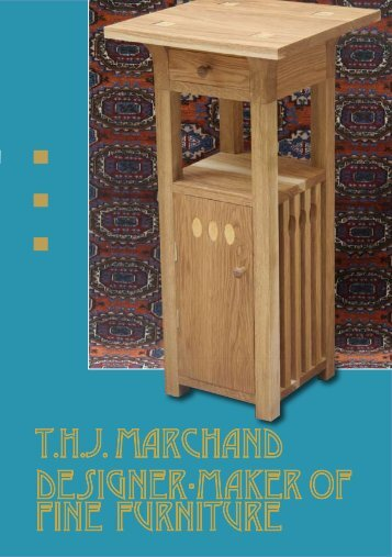 Trevor Marchand furniture flyer