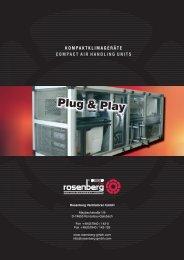 Kompaktklimageräte / Compact Air Handling Units - Rosenberg ...