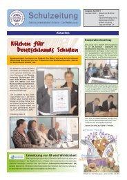 Küchen für Deutschlands Schulen - Saxony International School