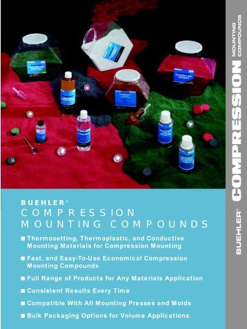 COMPRESSION MOUNTING COMPOUNDS - BUEHLER