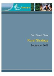 Rural Strategy - Surf Coast Shire
