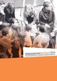 Informationen zum Programm des Pädagogischen Zentrums