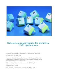 Ontological Requirements for Industrial CMS Applications PDF - IKS