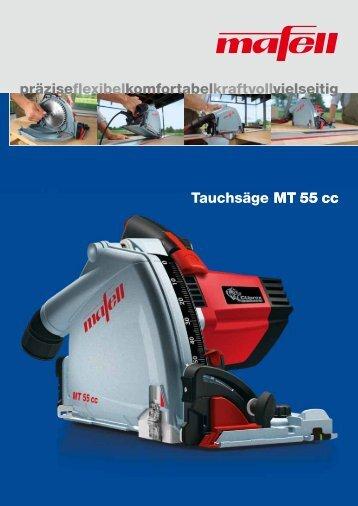 MT 55 cc präziseflexibelkomfortabelkraftvollvielseitig Tauchsäge MT ...