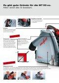 MT 55 cc präziseflexibelkomfortabelkraftvollvielseitig Tauchsäge MT ... - Seite 6