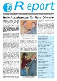 Hohe Auszeichnung für Hans Dirmeier - Deutsche Selbsthilfegruppe ...