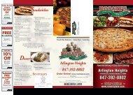 847-392-8802 10% Off - Rosati's Pizza