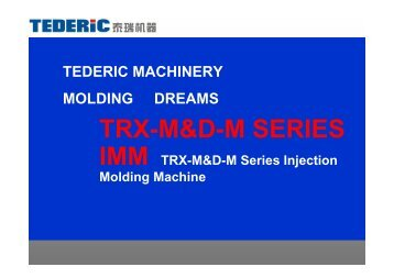 TRX-M&D-M SERIES - TOP-MACHINES