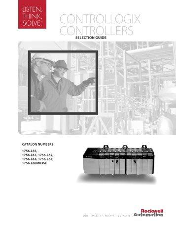 CONTROLLOGIX CONTROLLERS - Jonweb FA