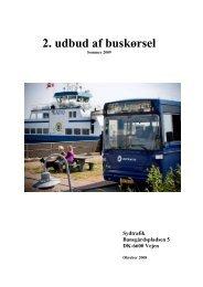 Udbudsbetingelser 2. udbud - ver. 051108 - Sydtrafik