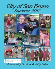 Activity Guide - City of San Bruno