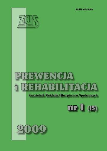 Prewencja i rehabilitacja 1/2009