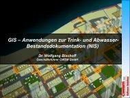 GIS – Anwendungen zur Trink- und Abwasser ...