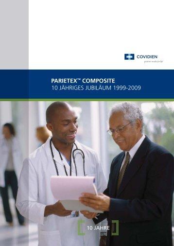 parietex™ composite 10 jähriges jubiläum 1999-2009 - DGCH ...