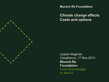 Munich Re Foundation