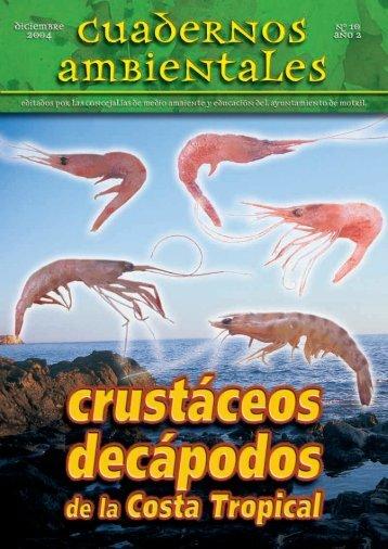 CA - 10 - Crustaceos decápodos de la Costa Tropical