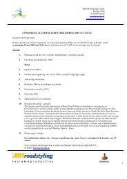 Download uitnodiging en concept verslag 2008 - Unitas