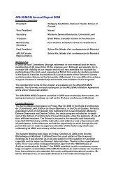 ARLIS/MOQ Annual Report 2008 - arlis/na moq