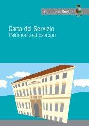 Carta Servizio Patrimonio - Comune di Rovigo