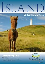 Katalog 2012 PDF - Island Tours Switzerland