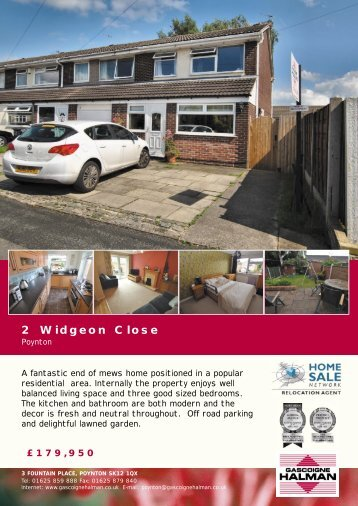 2 Widgeon Close