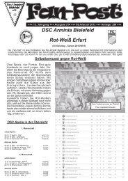 Ausgabe 214 - Fan-Projekt Bielefeld e.V.