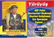 AKP Polisi Devrimcileri Sindirmek Dincileri Gelifltirmek ‹çin ...