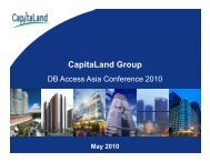 Presentation slides to be presented at Deutsche Bank Access Asia ...