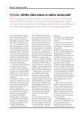 Rapport:VÃ¥rden i Almedalen 2011 - Swedish Medtech - Page 6